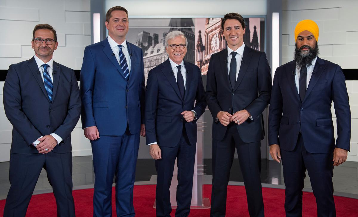 Die opkoms van die separatisteleier in Kanada stel verkiesingsuitdaging vir premier Trudeau voor
