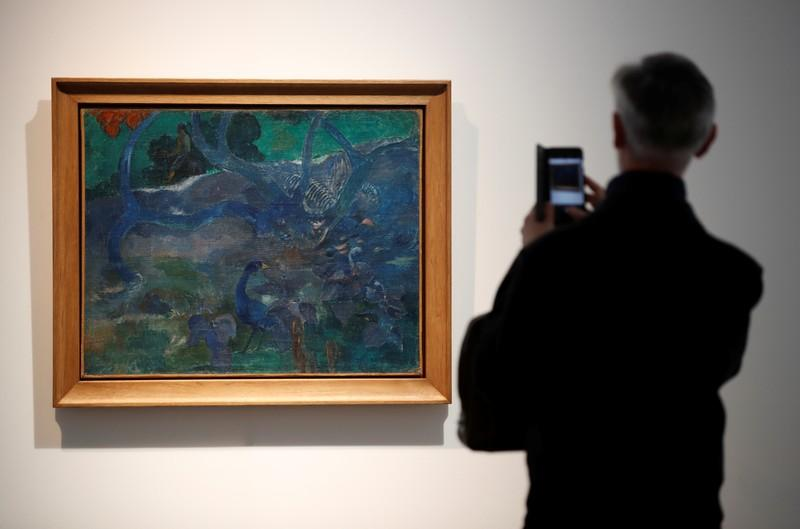 Gauguin, Gauguin, Gone - Tahiti painting to be auctioned in Paris...