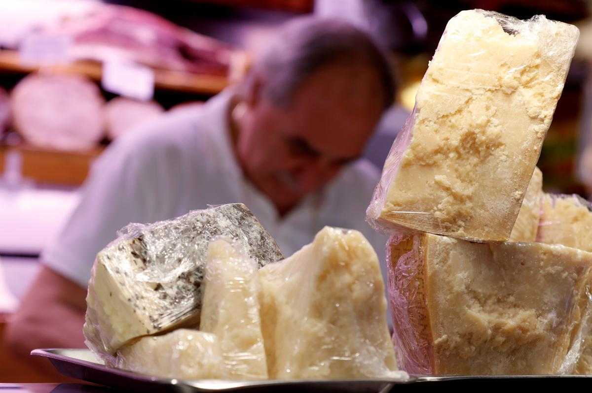 U.S. tariffs grate on Italy's Parmesan cheesemakers