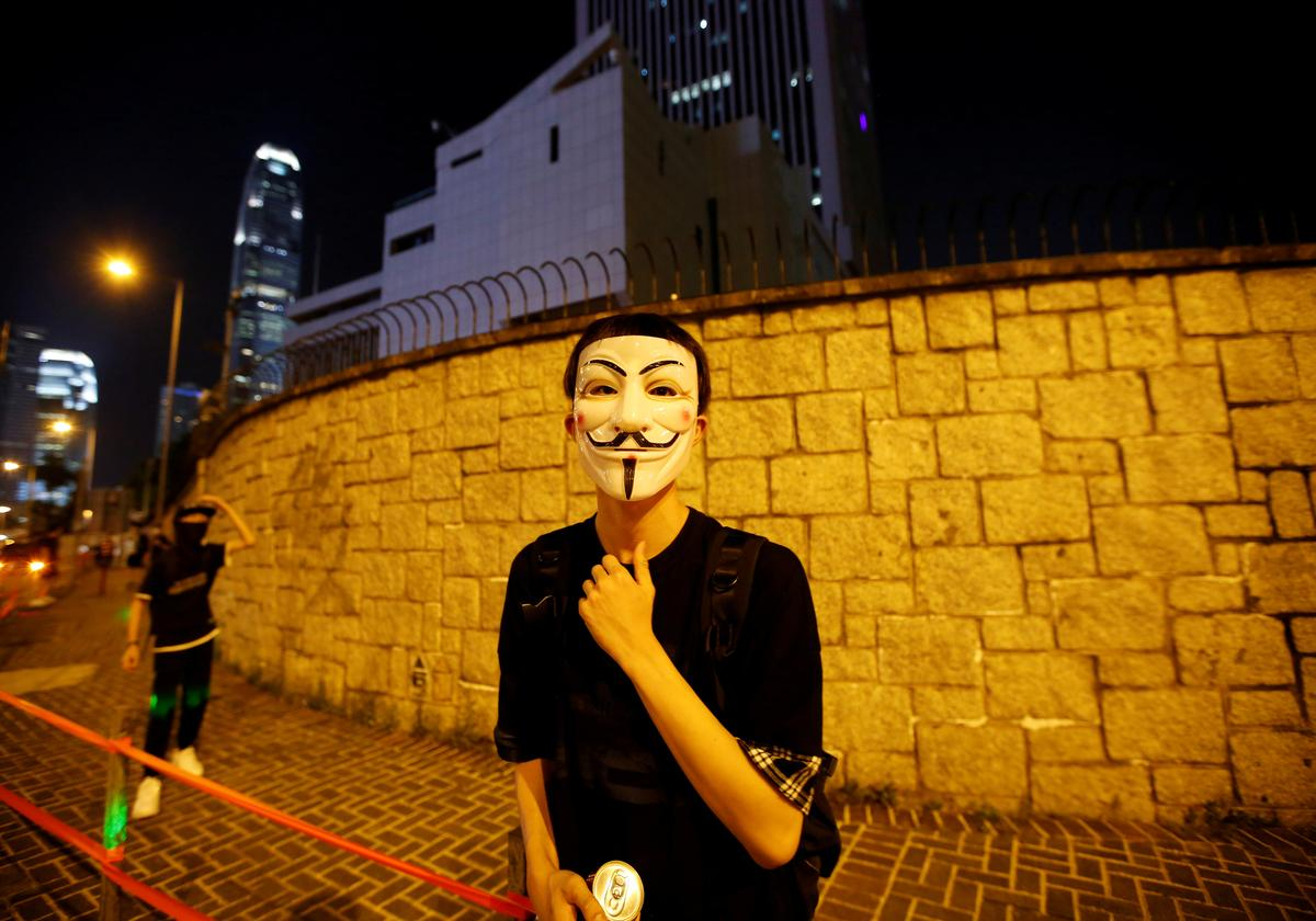 Hongkong om middernagtelike wet teen anti-masker in te stel: media