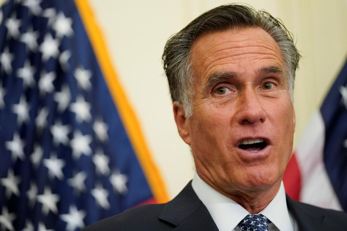 Trump pushing nations for Biden probe is 'wrong and appalling': Romney