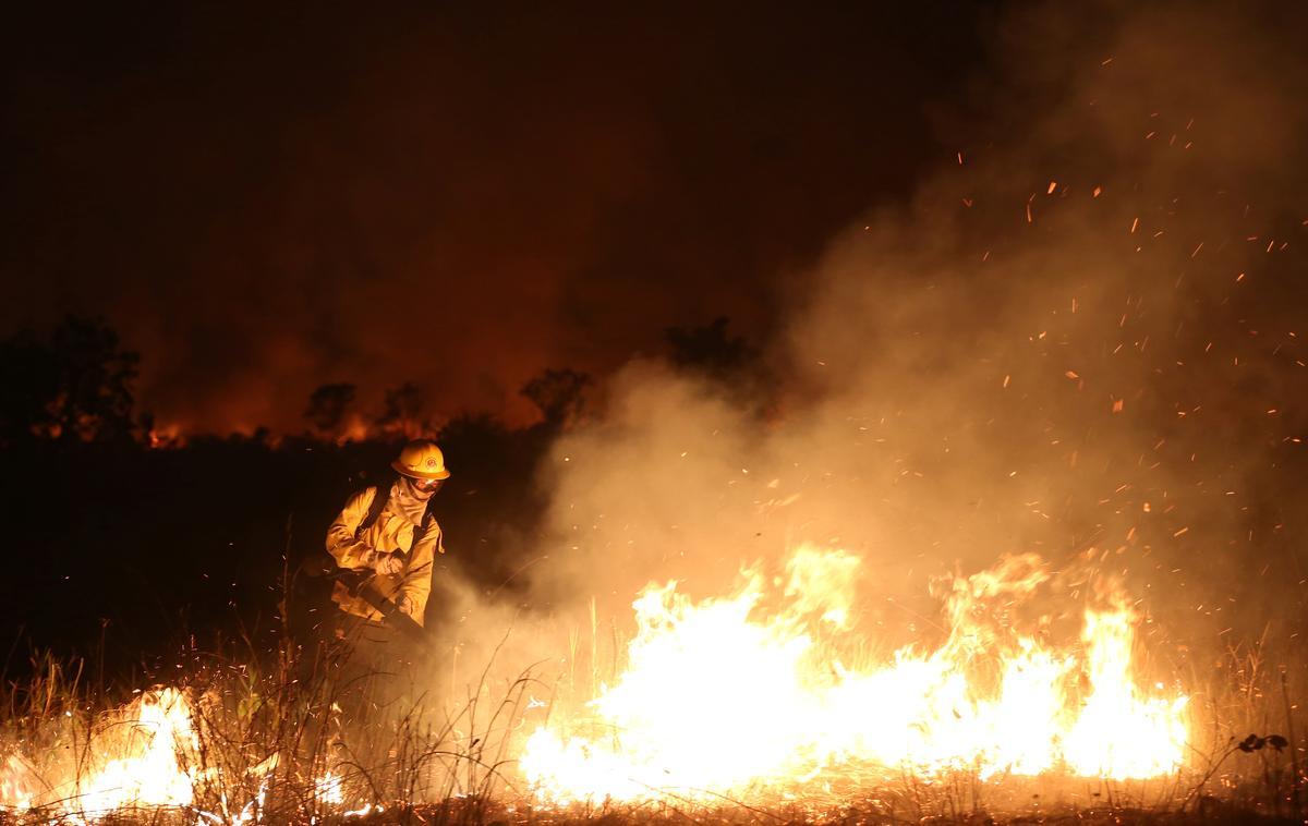 Reën, militêre reaksie help om brande in Brasilië se Amasone in September te bekamp