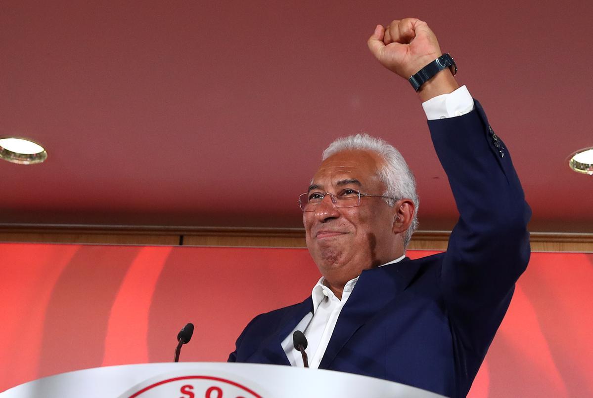 Portugal se regerende sosialiste wen verkiesing, maar val nie op 'n volstrekte meerderheid nie