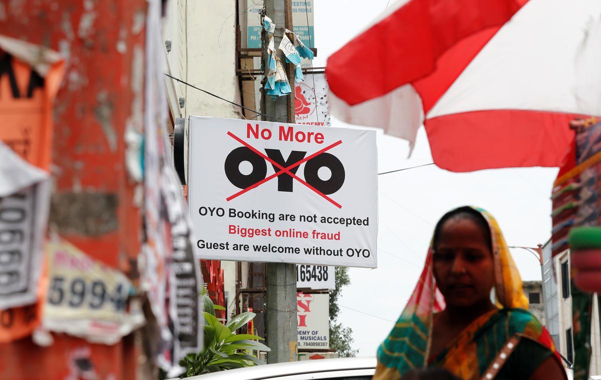 Terwyl Oyo van Softbank opskiet, huil sommige Indiese hotelle vieslik en kyk