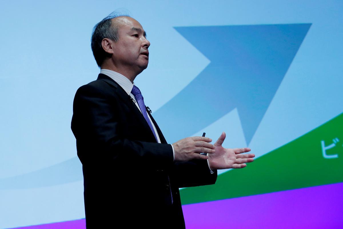 Die uitvoerende hoof van SoftBank sê 'verleë en gefrustreerd' volgens die rekord: Nikkei Business