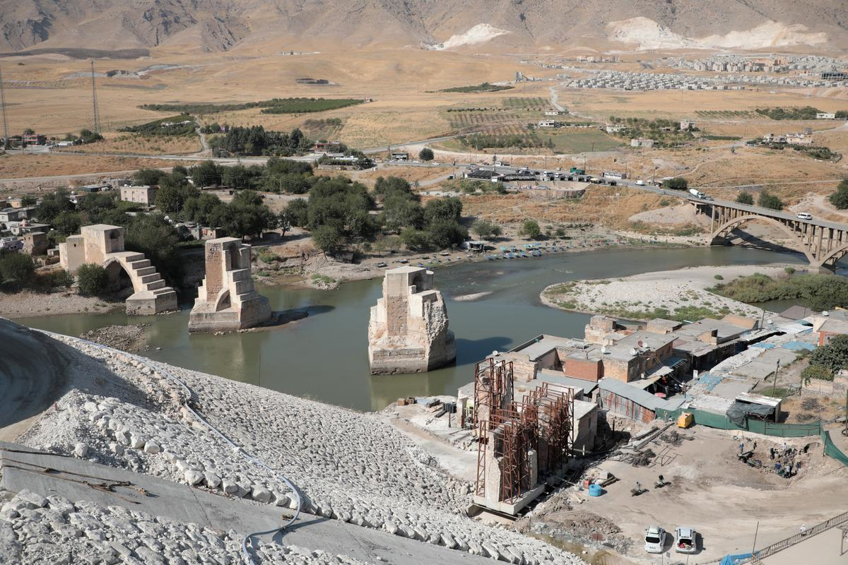 Residents scramble to uproot from ancient Turkish town before dam...