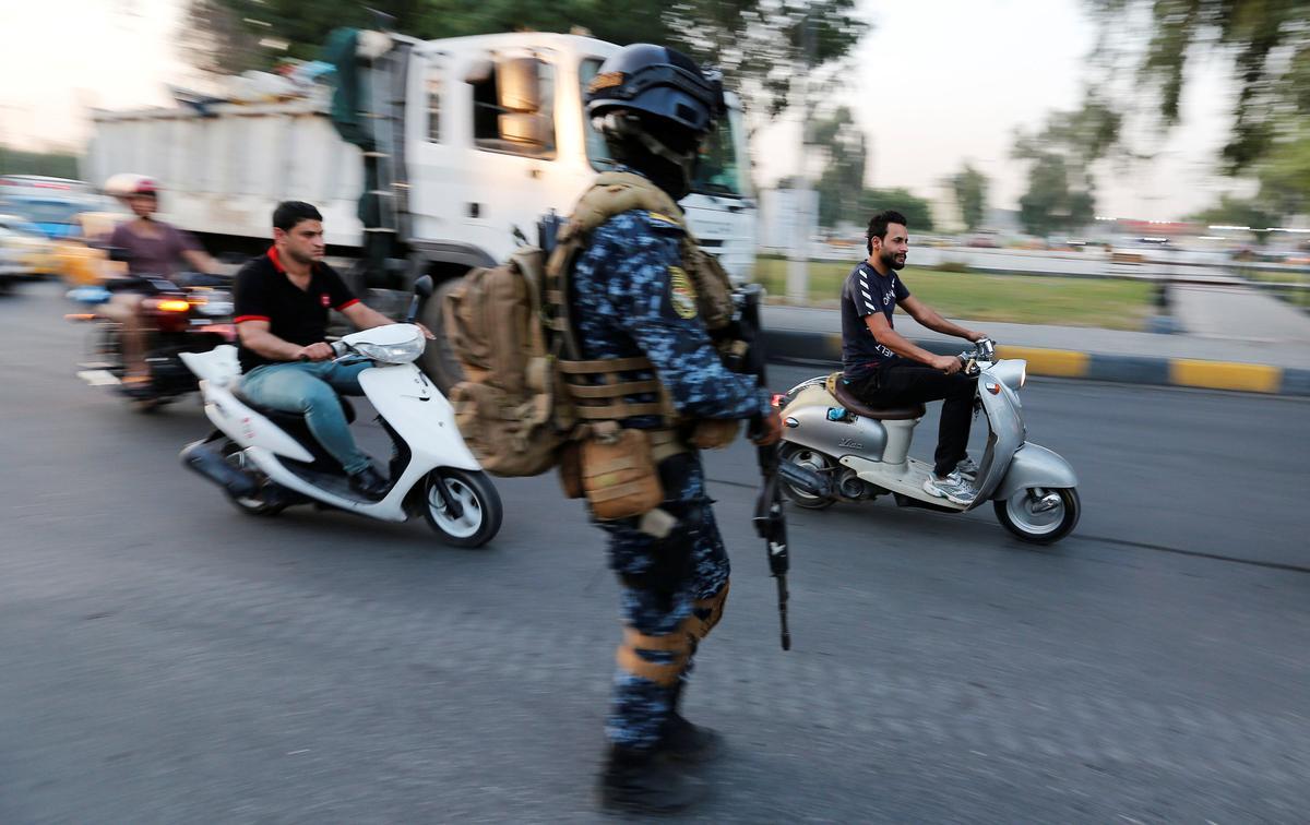 Protesoptogte hervat in Sadr-stad in Irak met die opstand in die tweede week