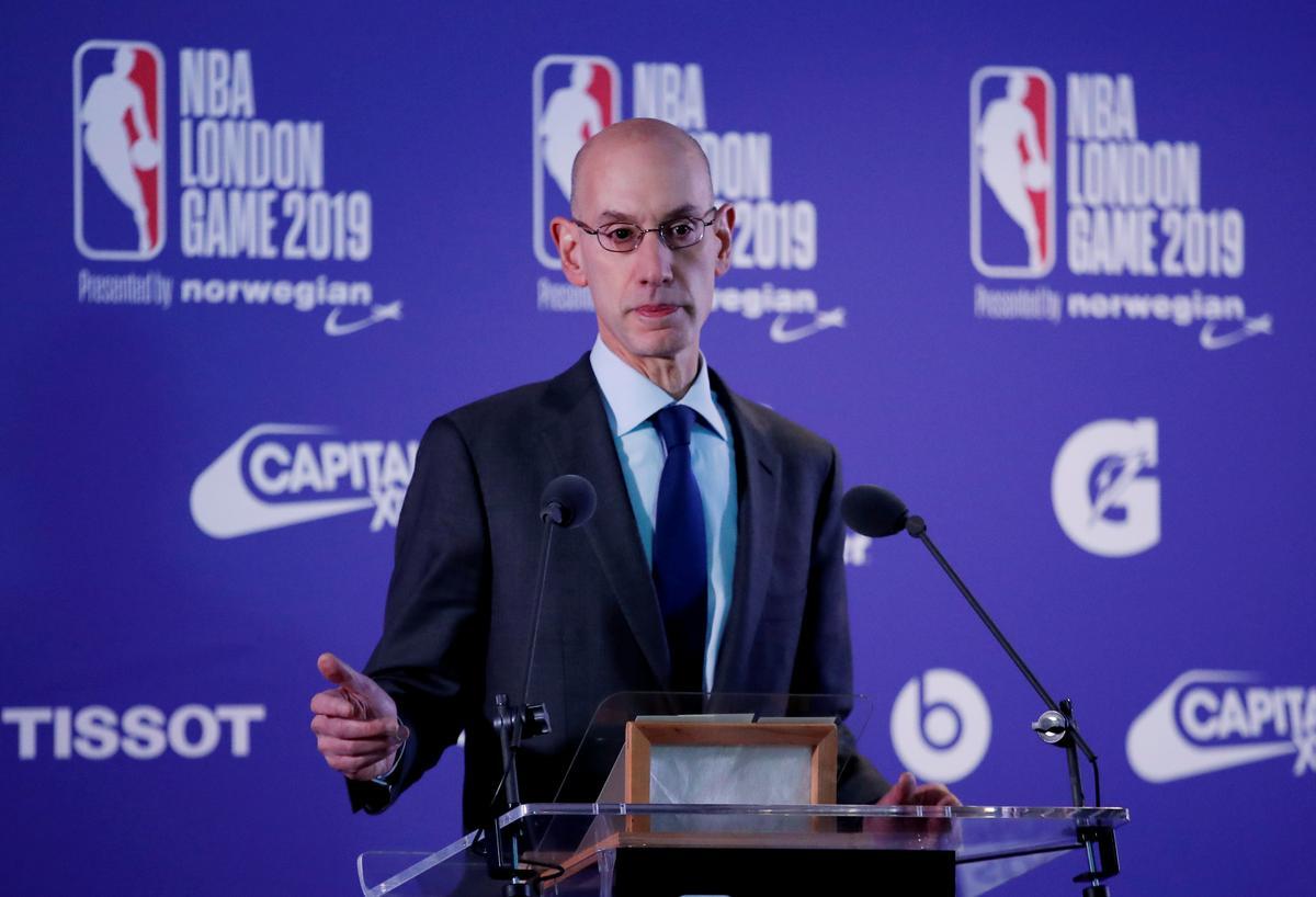 Volgens NBA se Silver sal werknemers nie sake reguleer wat spelers sê nie