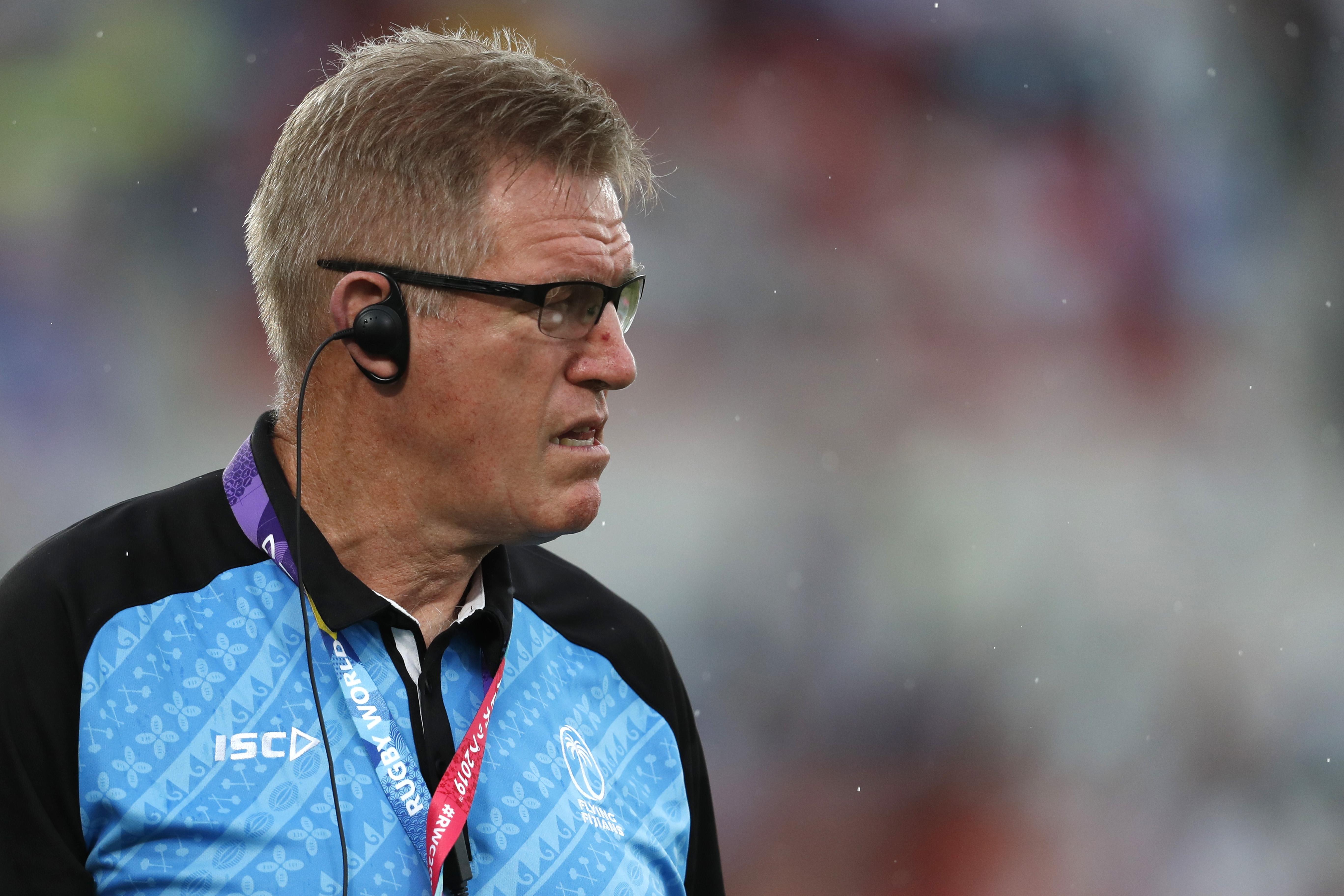 Fiji coach McKee denounces northern hemisphere 'self-interest'