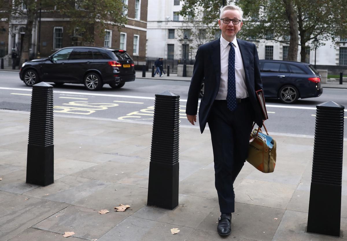 Die EU moet beweeg om 'n Brexit-ooreenkoms te kry: Gove, die Britse minister van geen transaksies