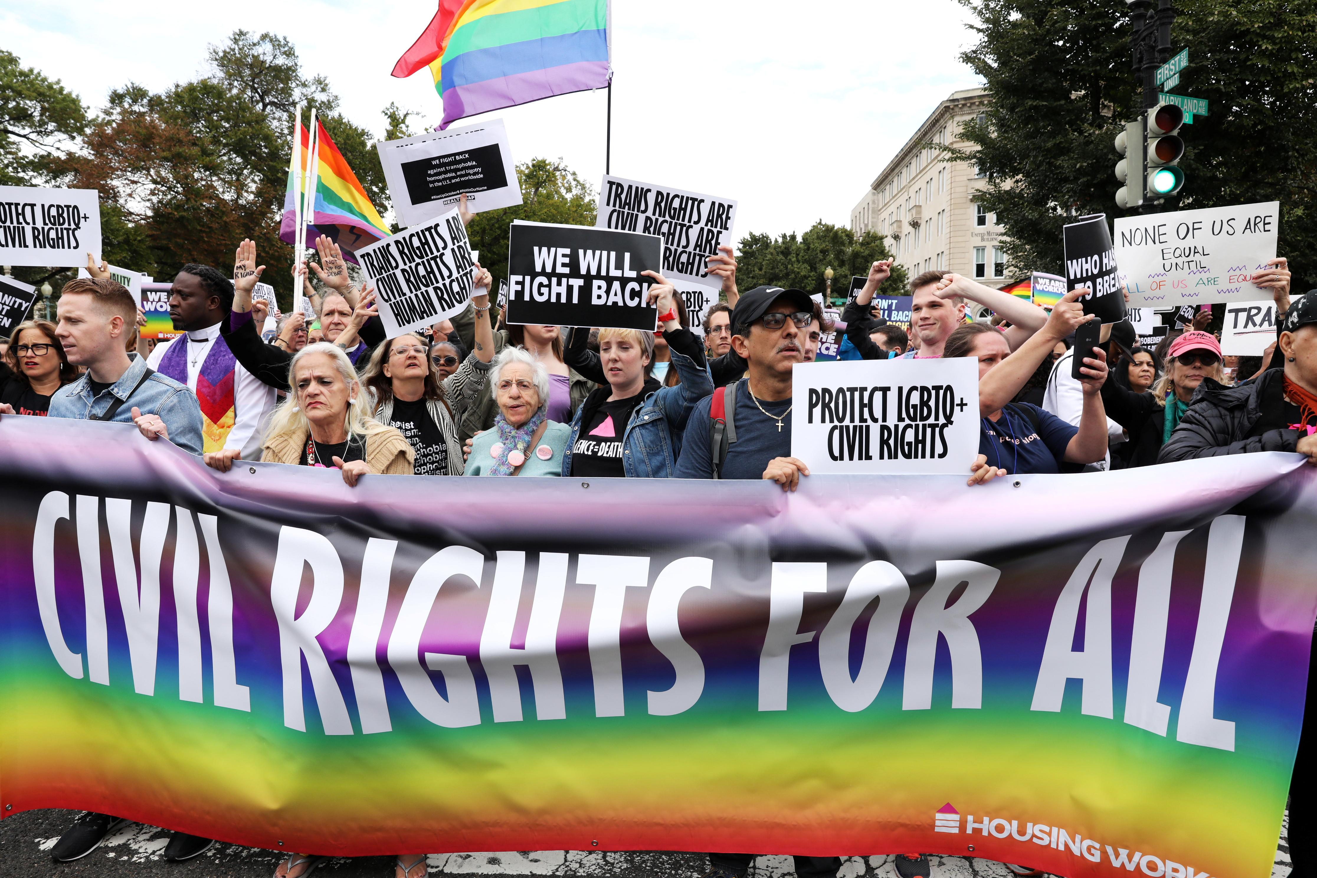 U.S. Supreme Court divided on LGBT employment protection; Gorsuch...
