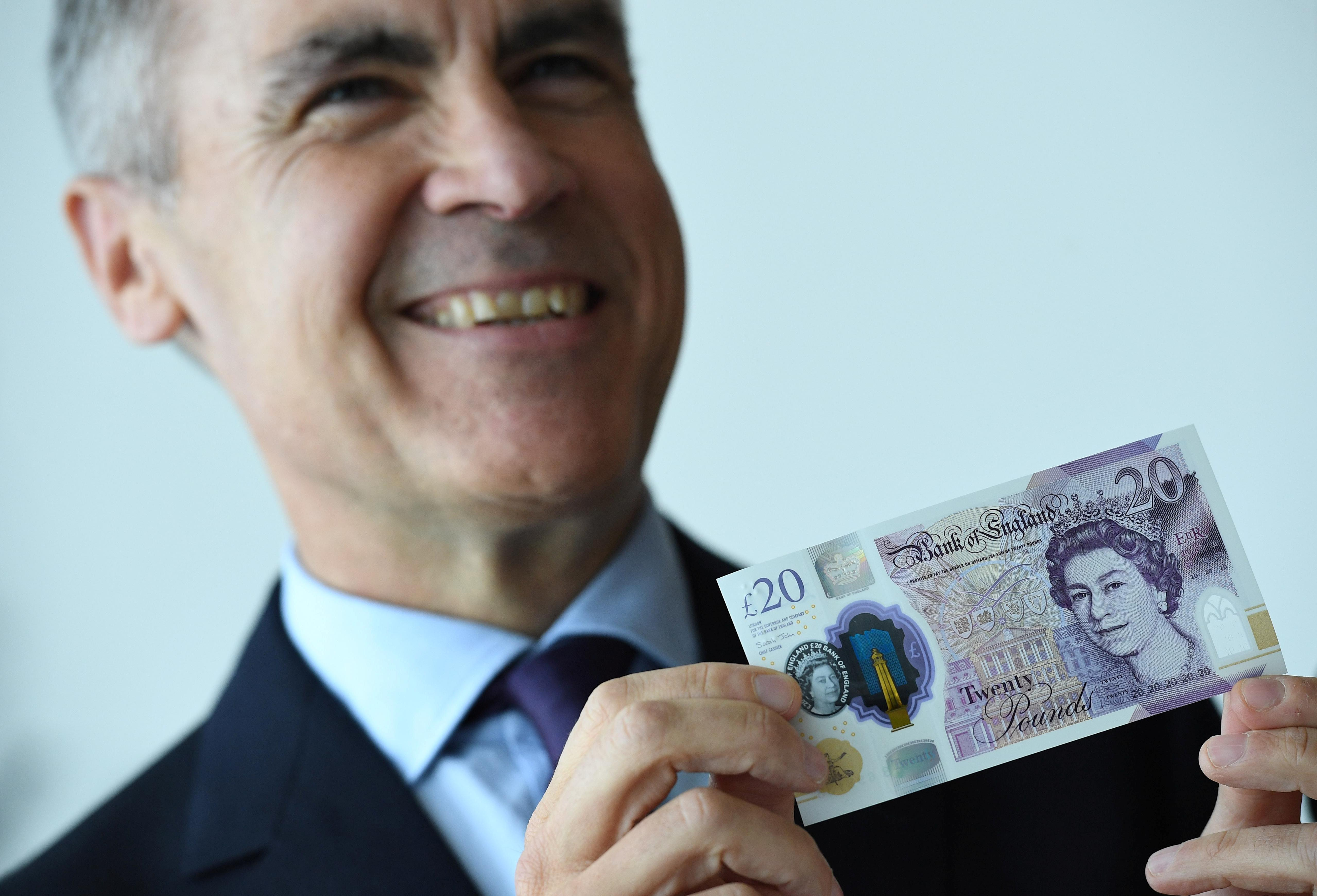 Quite a picture: Bank of England launches Turner-inspired banknote