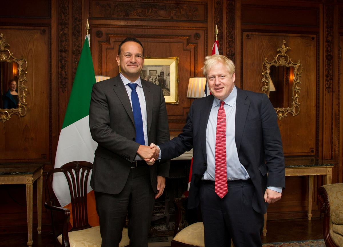 Britain and Ireland see a pathway to Brexit deal