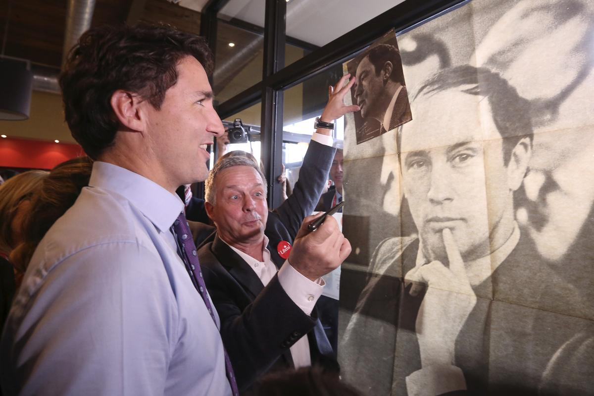 Like father, like son? Canada's Trudeaus start strong, then struggle to hold onto power