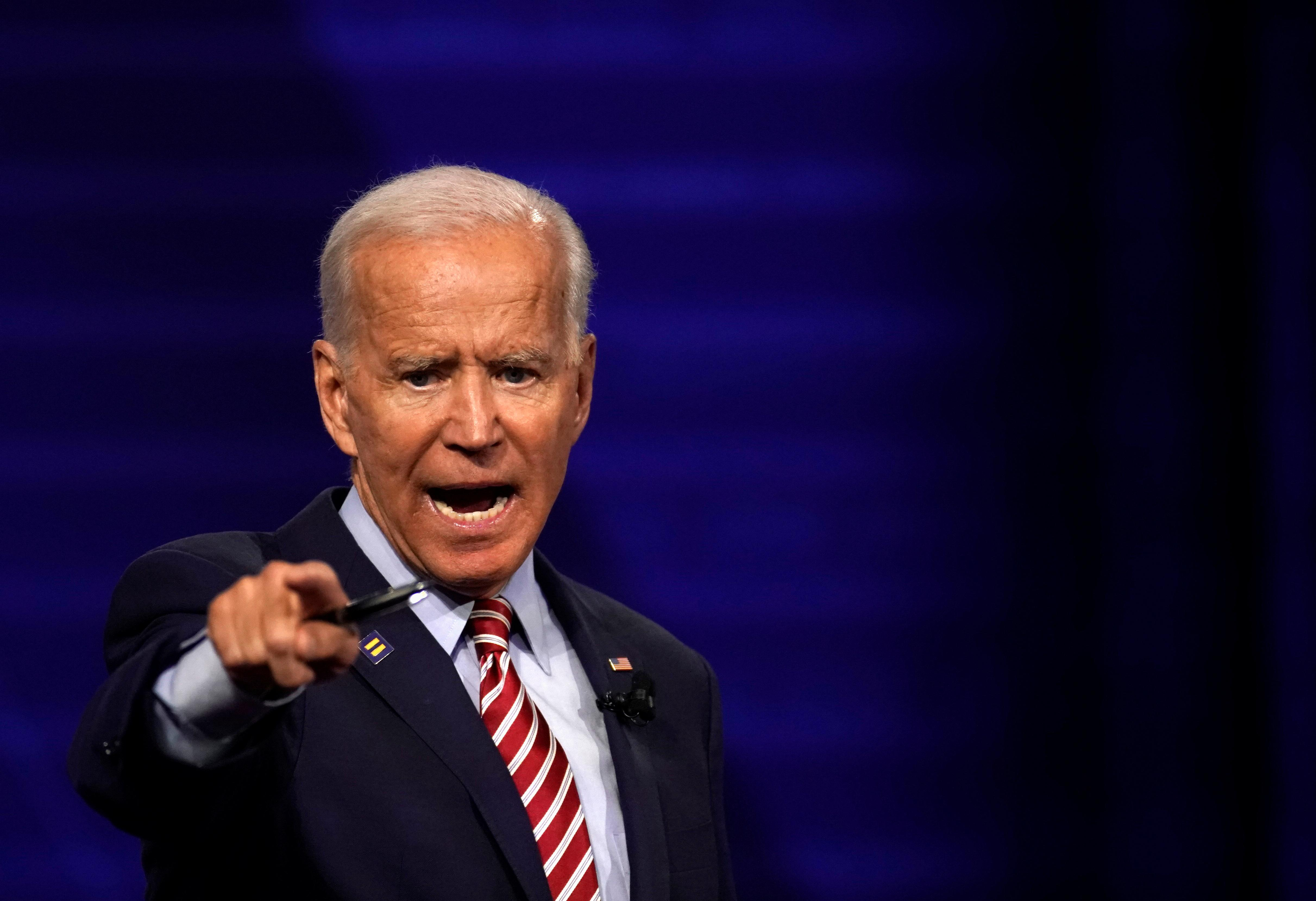 Biden says he would withhold foreign aid if countries discriminate...
