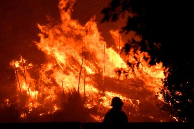 Wildfires rage across California