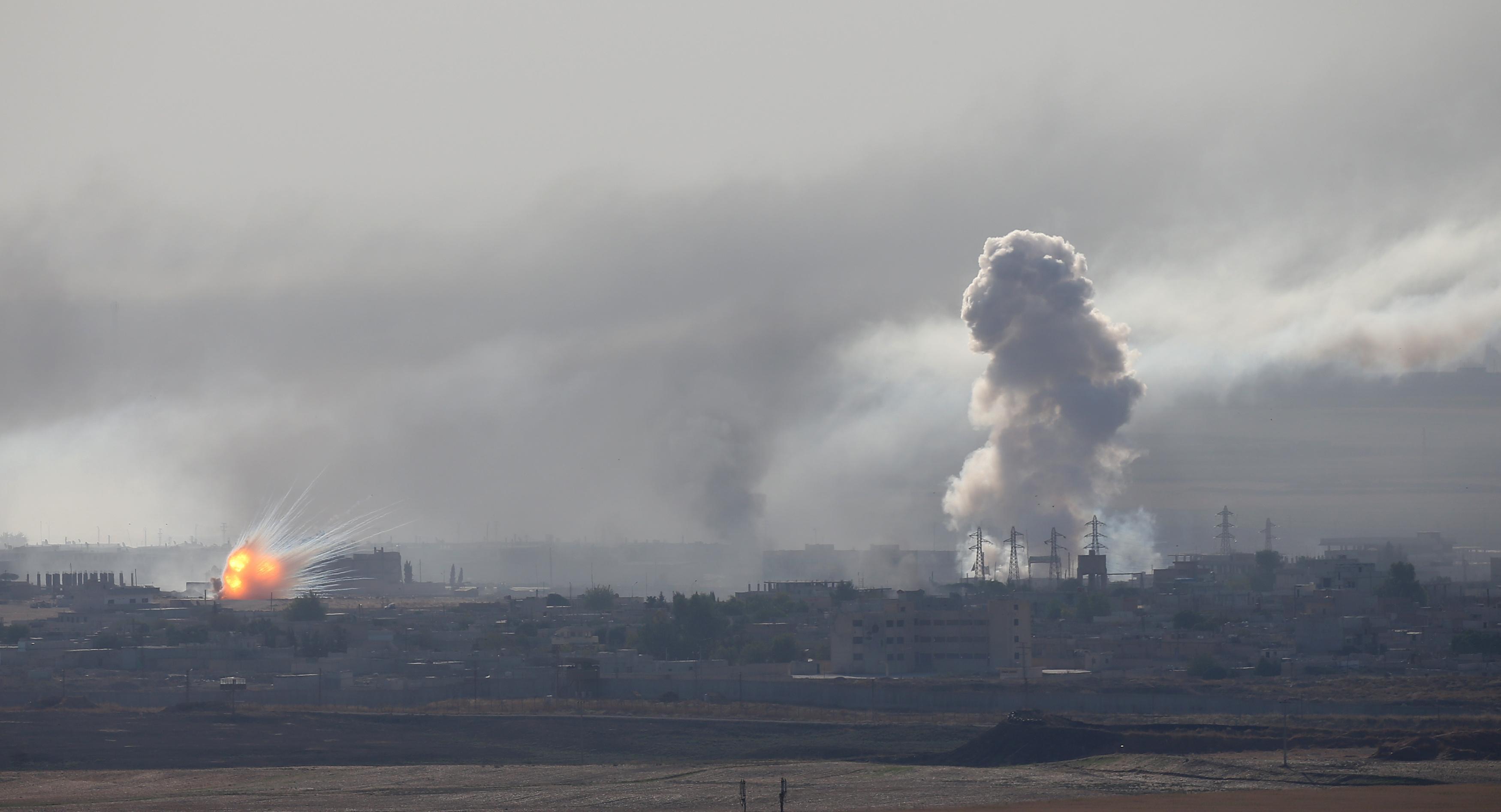 Turkey intensifies Syria campaign as Islamic State strikes Kurds