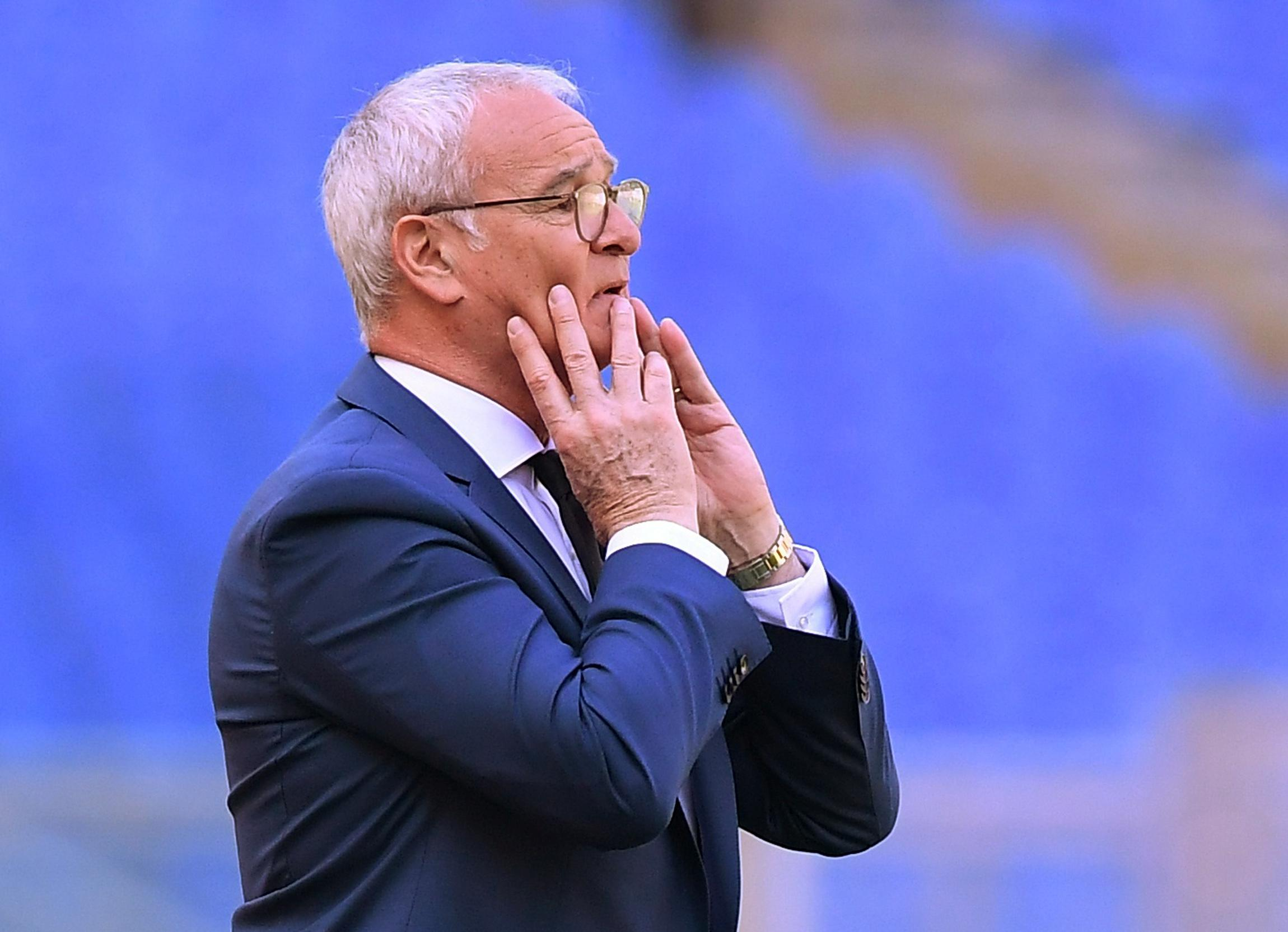 Sampdoria appoint Ranieri as new coach on two-year deal