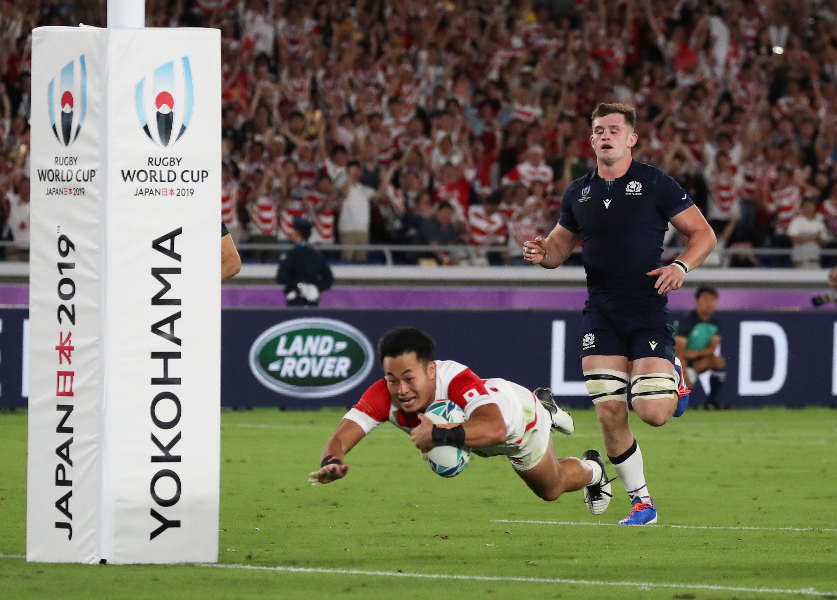 Japan roar into the quarters for first time to lift the nation