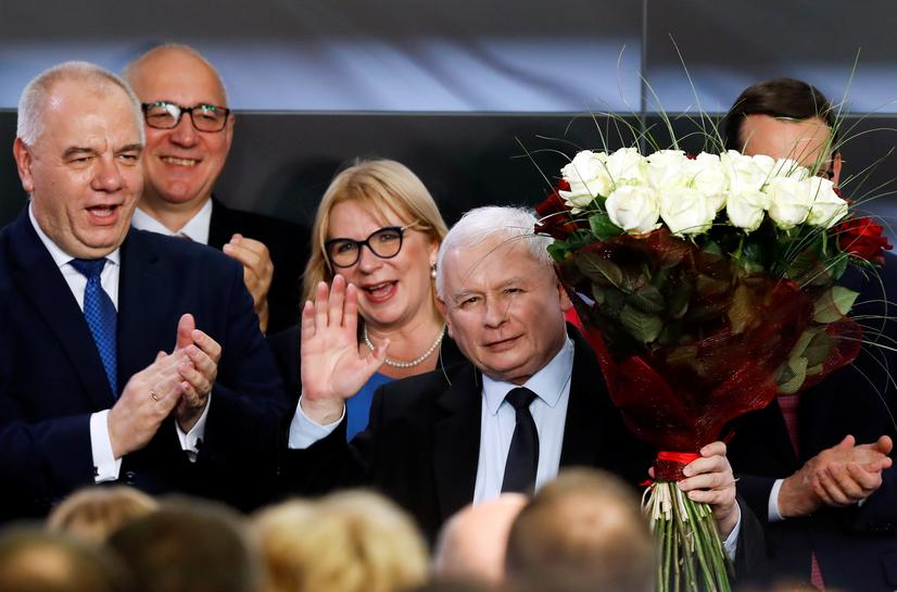 Poland's nationalists on course to stay in power for second term