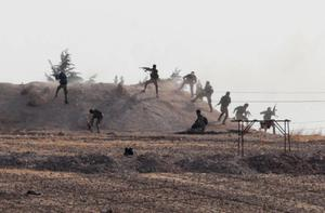 Turkey attacks Kurds in northeast Syria