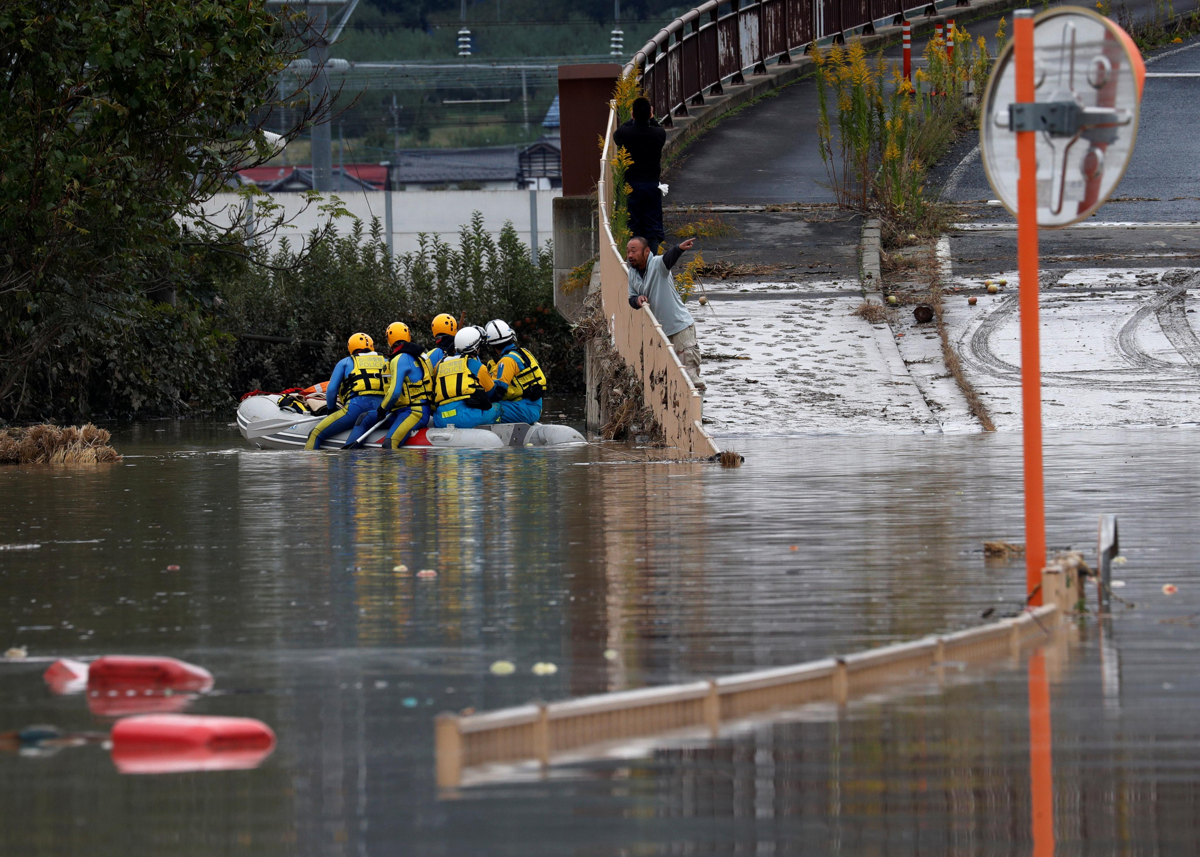 Factbox - By the numbers: Japan's Typhoon Hagibis compared to...