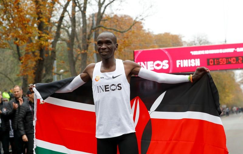 Kipchoge, 10 others nominated for male athlete of year