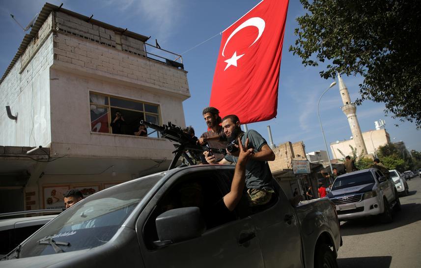 Turkey says Kurdish forces emptied Islamic State prison in northeast Syria