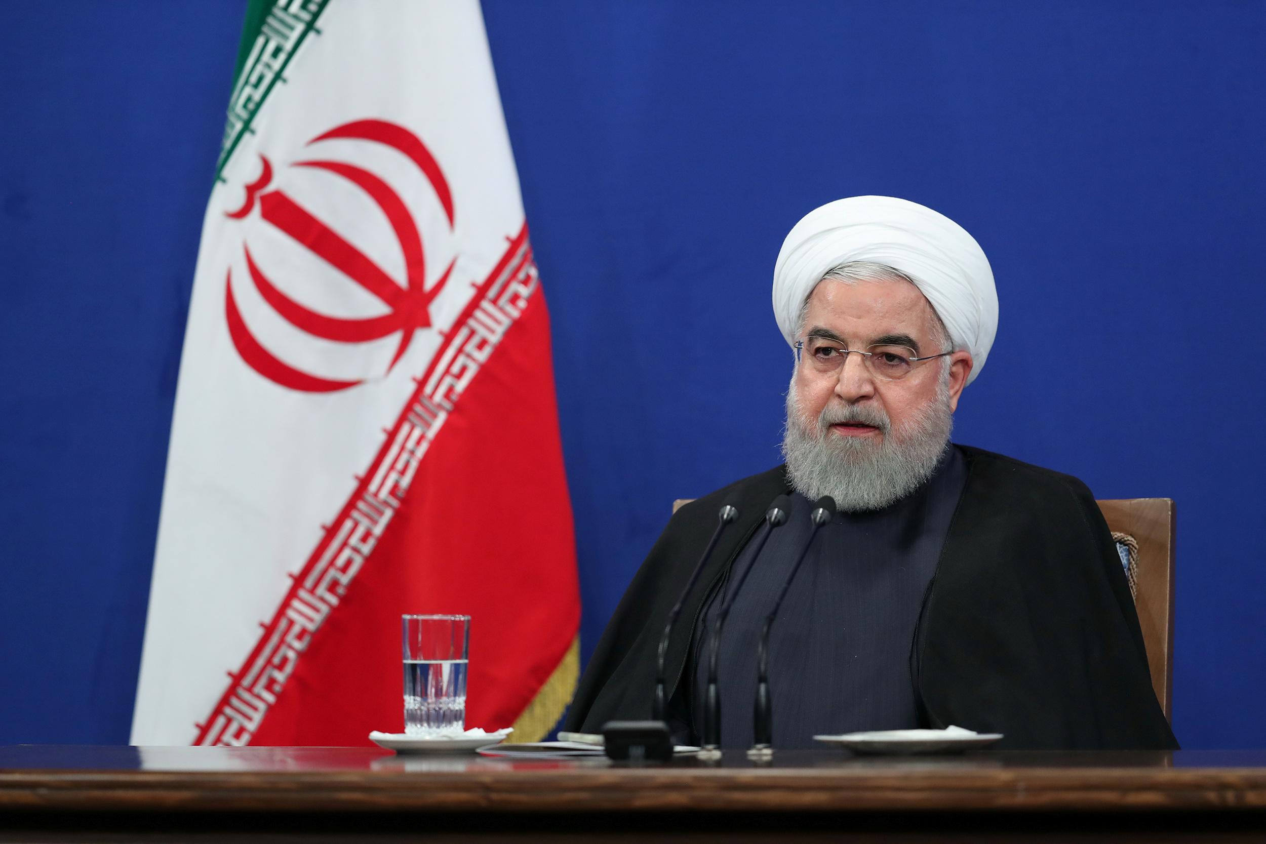 Iran president says there is video footage of attack on Iranian tanker