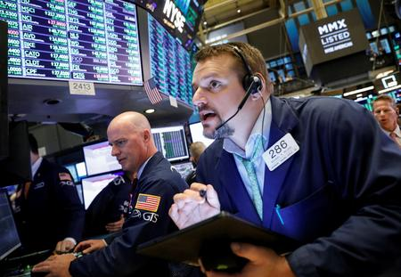 US STOCKS-Wall Street advances as earnings season hits the road running