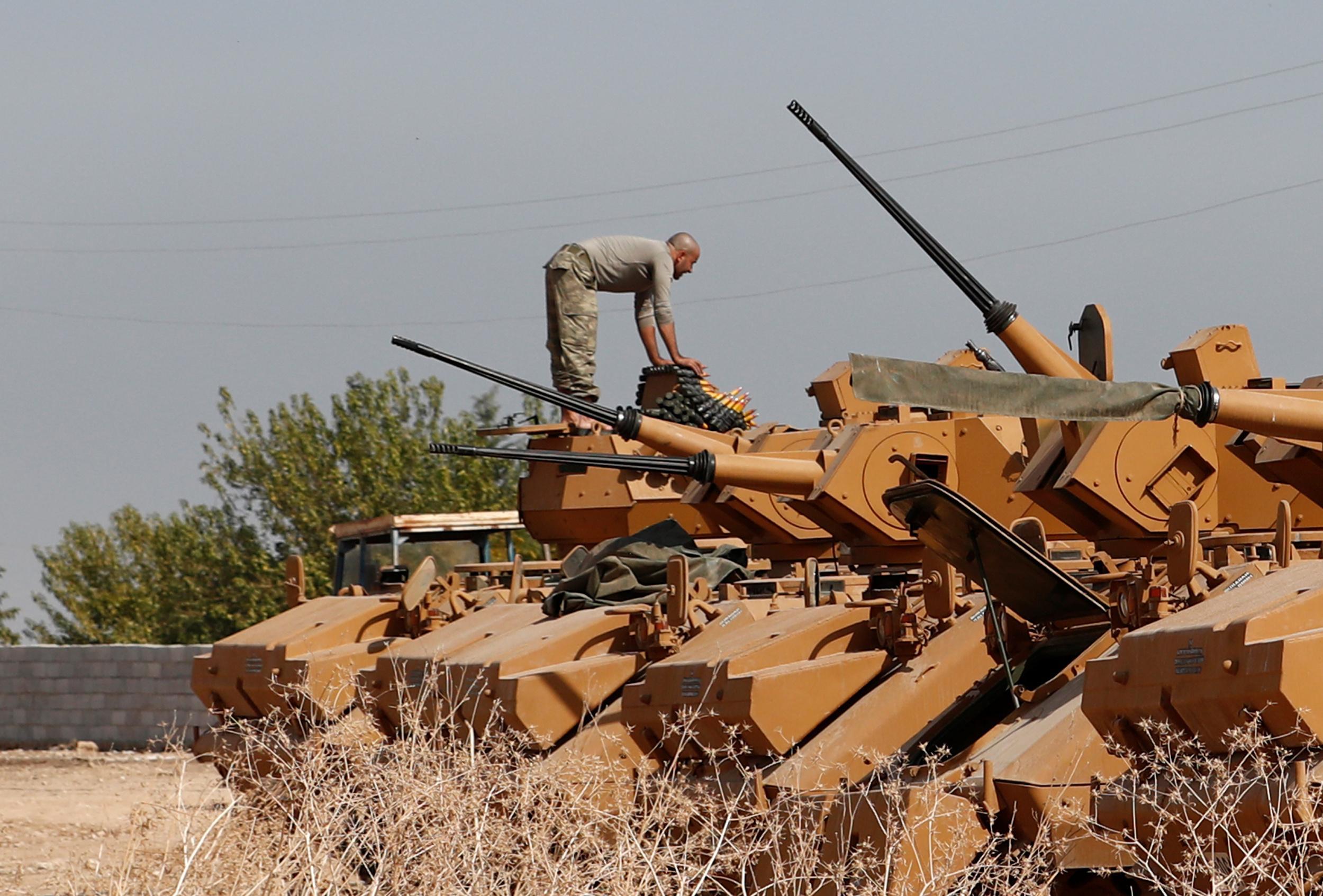 Turkish assault in Syria weakens Iraq Kurds, strengthens regional...