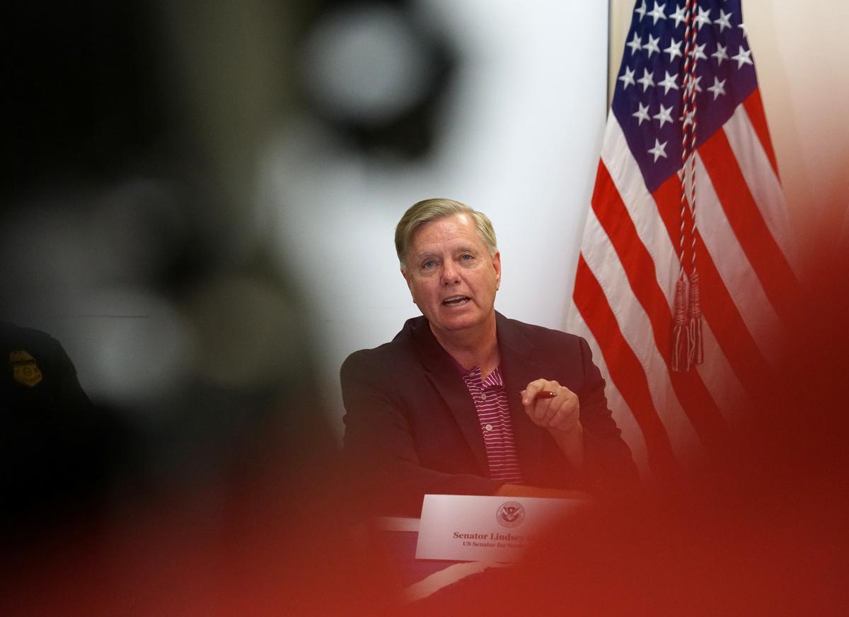 U.S. Senator Graham says he will introduce Turkey sanctions bill on...