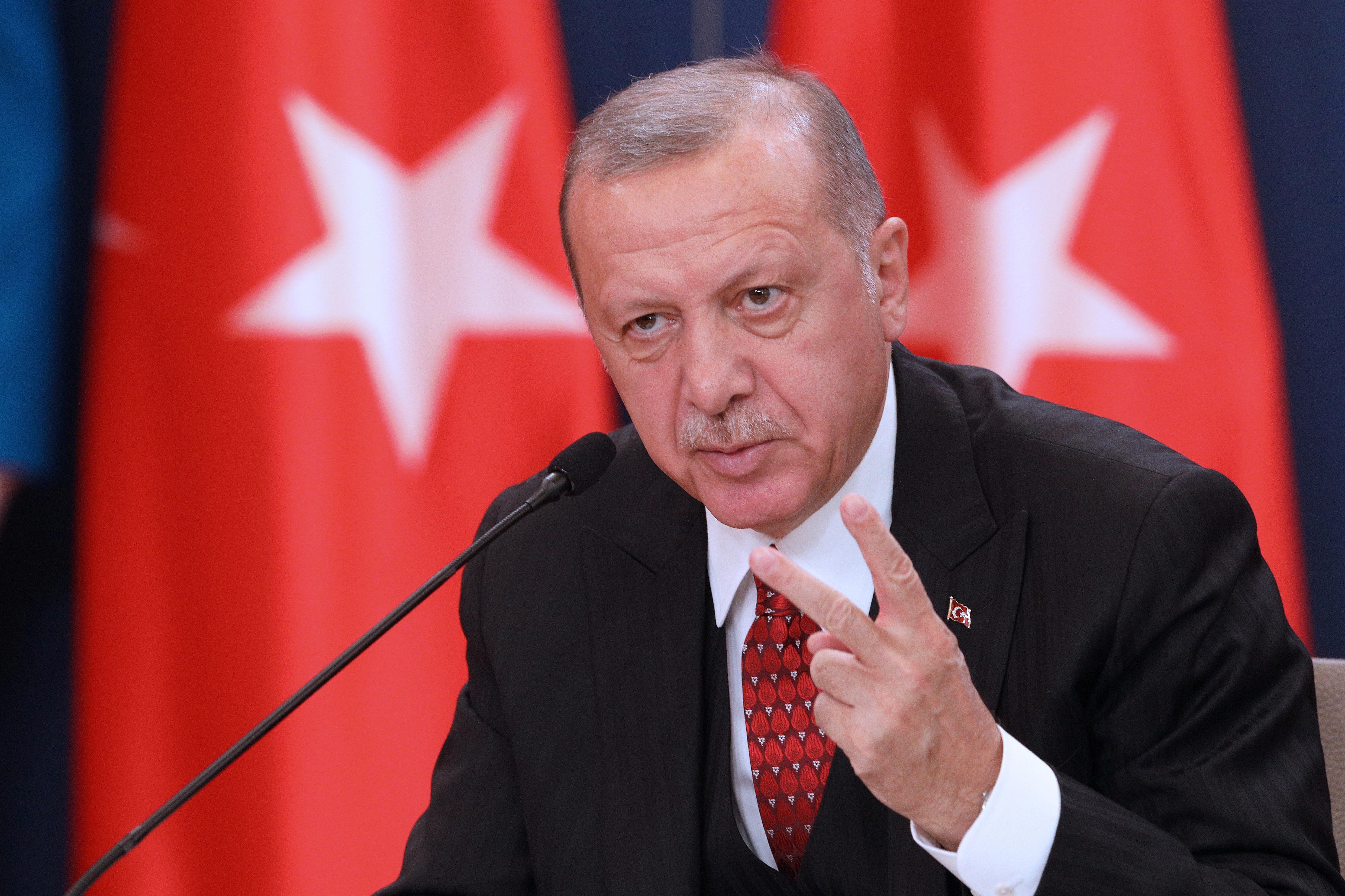 Turkey's Erdogan says alternatives to F-35 jets ready, receiving...