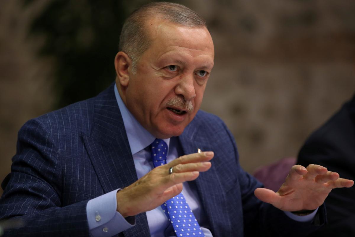 Erdogan says Turkey will never declare ceasefire in northern Syria