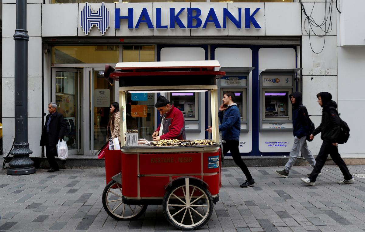 U.S. prosecutors accuse Turkey's Halkbank of scheme to evade Iran...