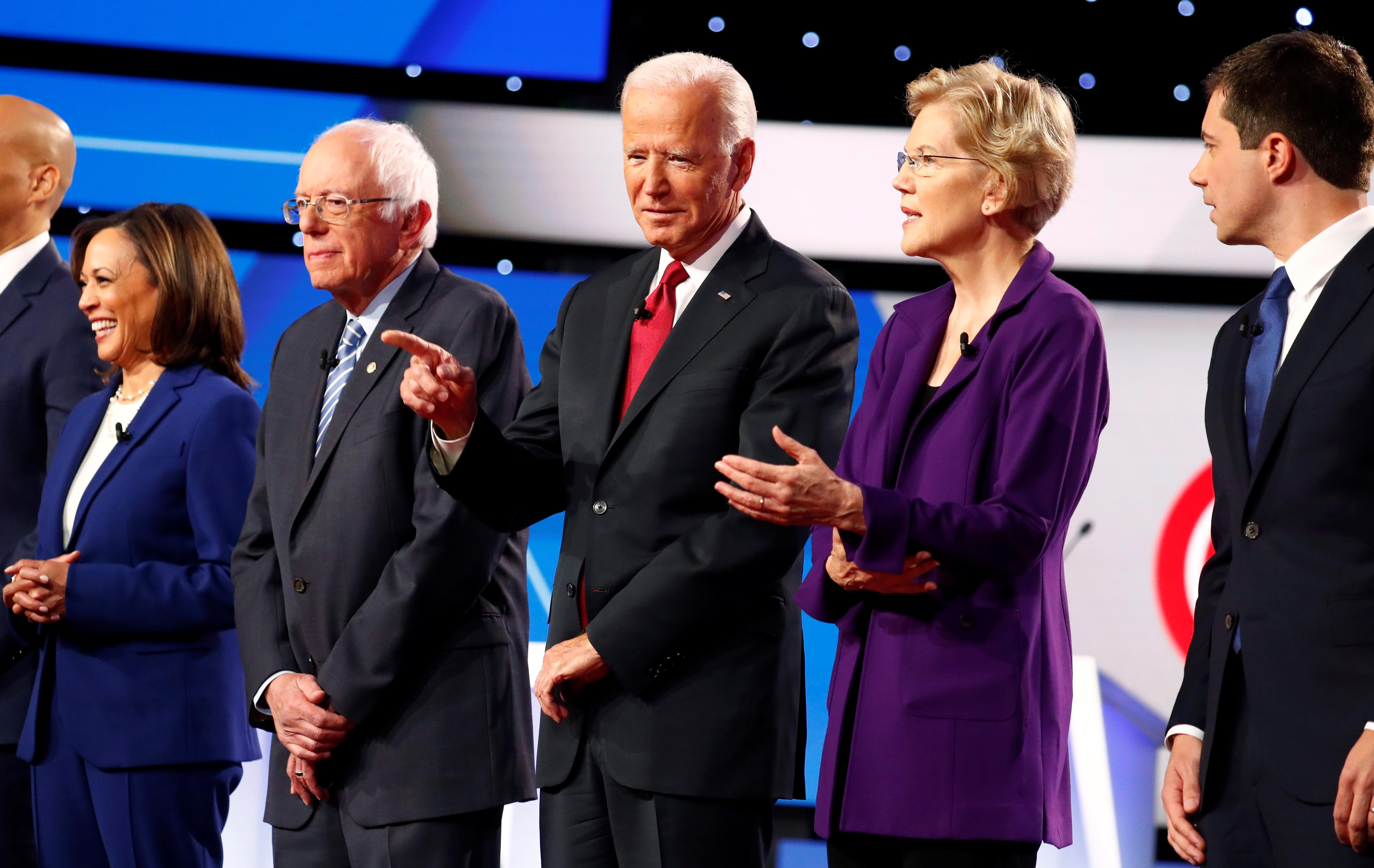 U.S. Democrats back on 2020 campaign trail after debate attacks on...