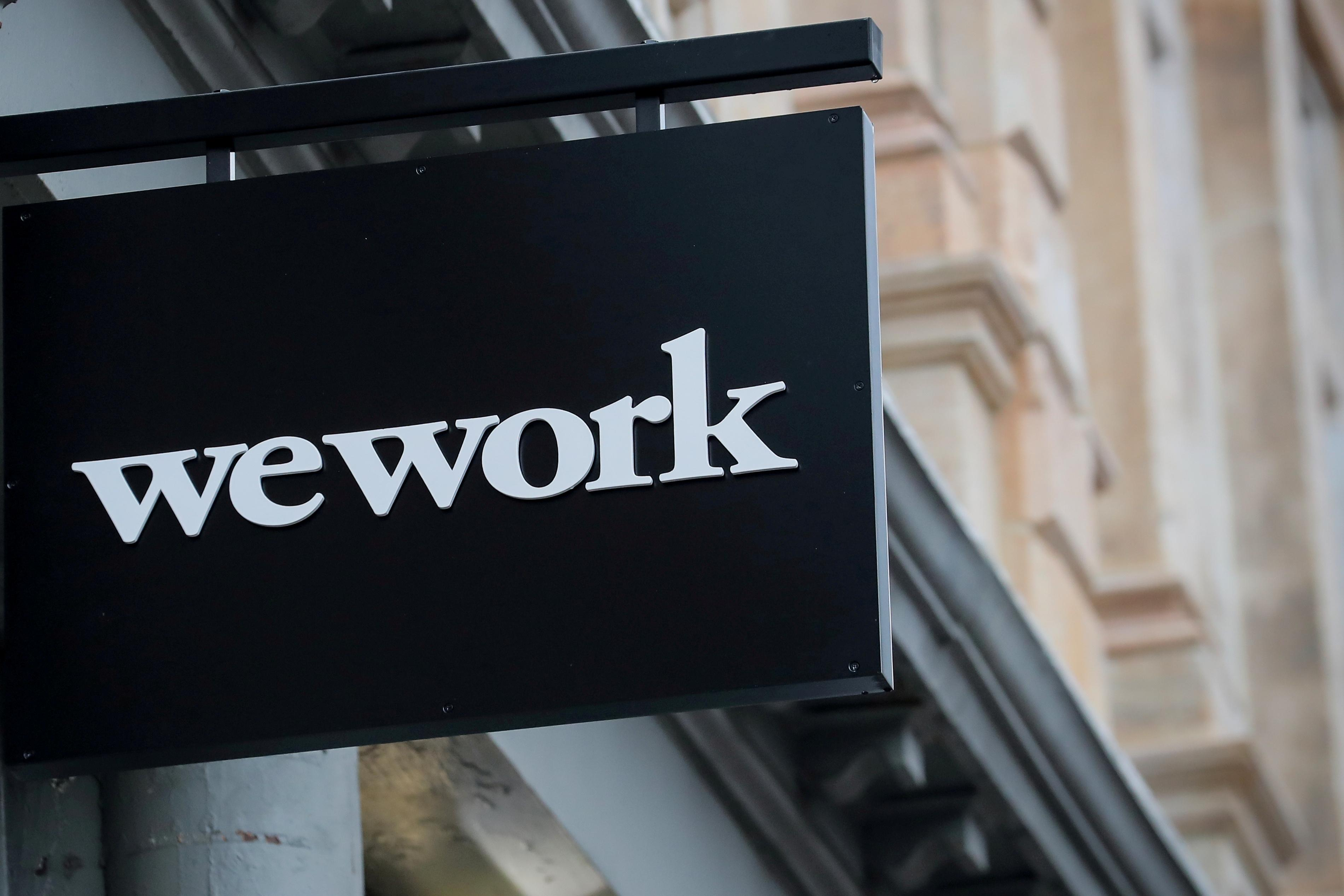 Exclusive: WeWork owner creates committee to decide on financing...