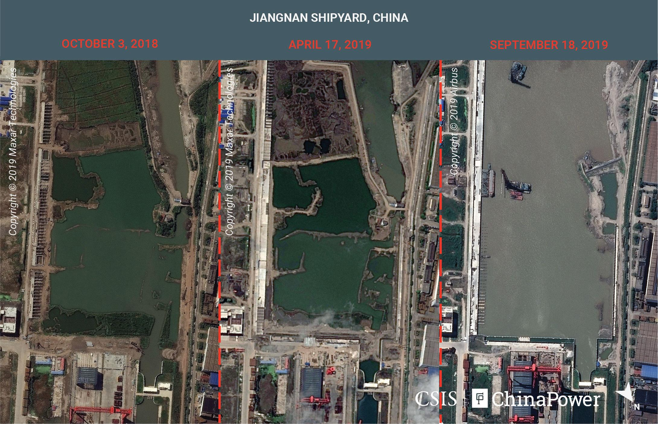 Exclusive: Satellite images reveal China's aircraft carrier...