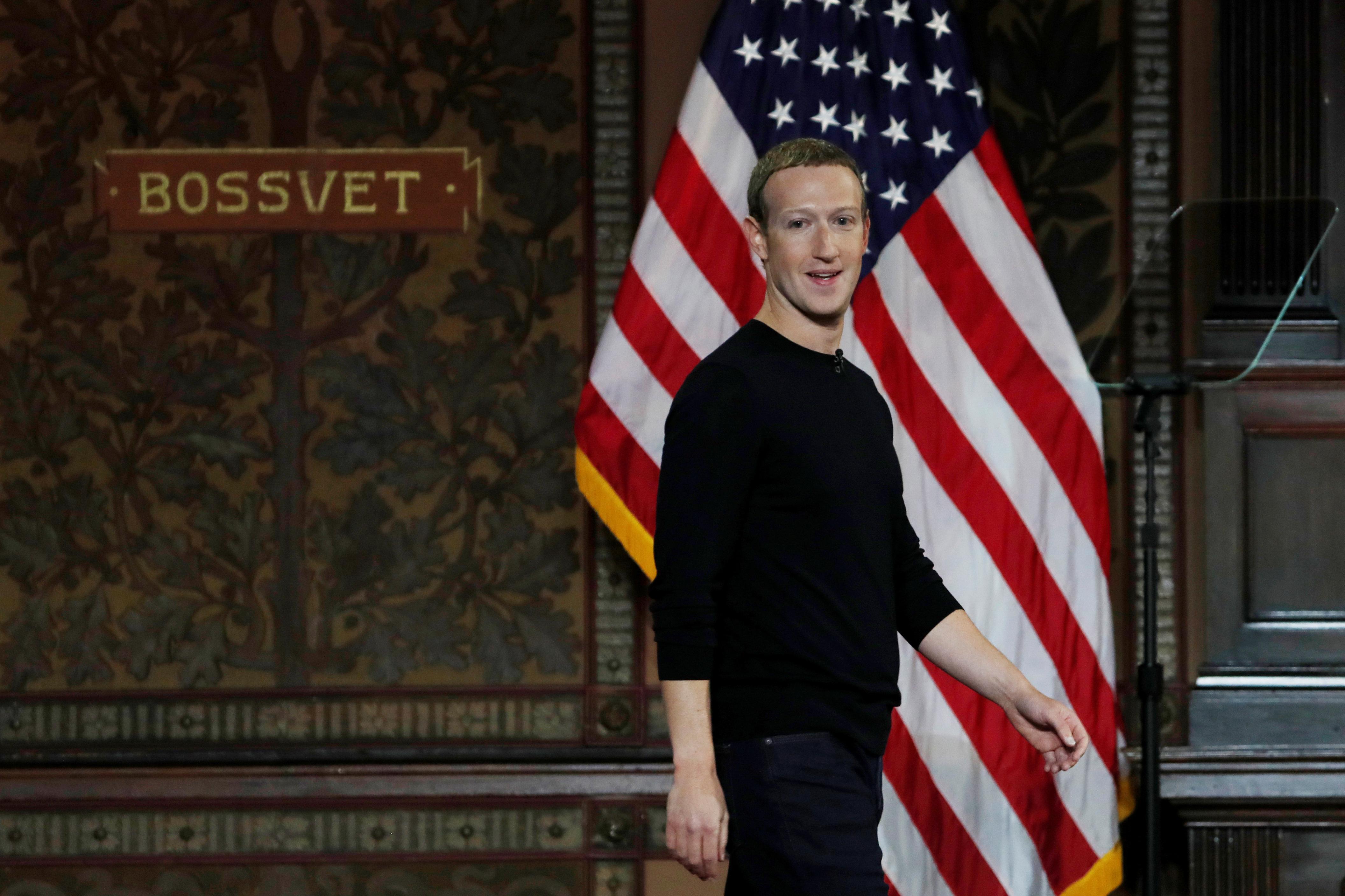 Zuckerberg defends Facebook's approach to free speech, draws line...