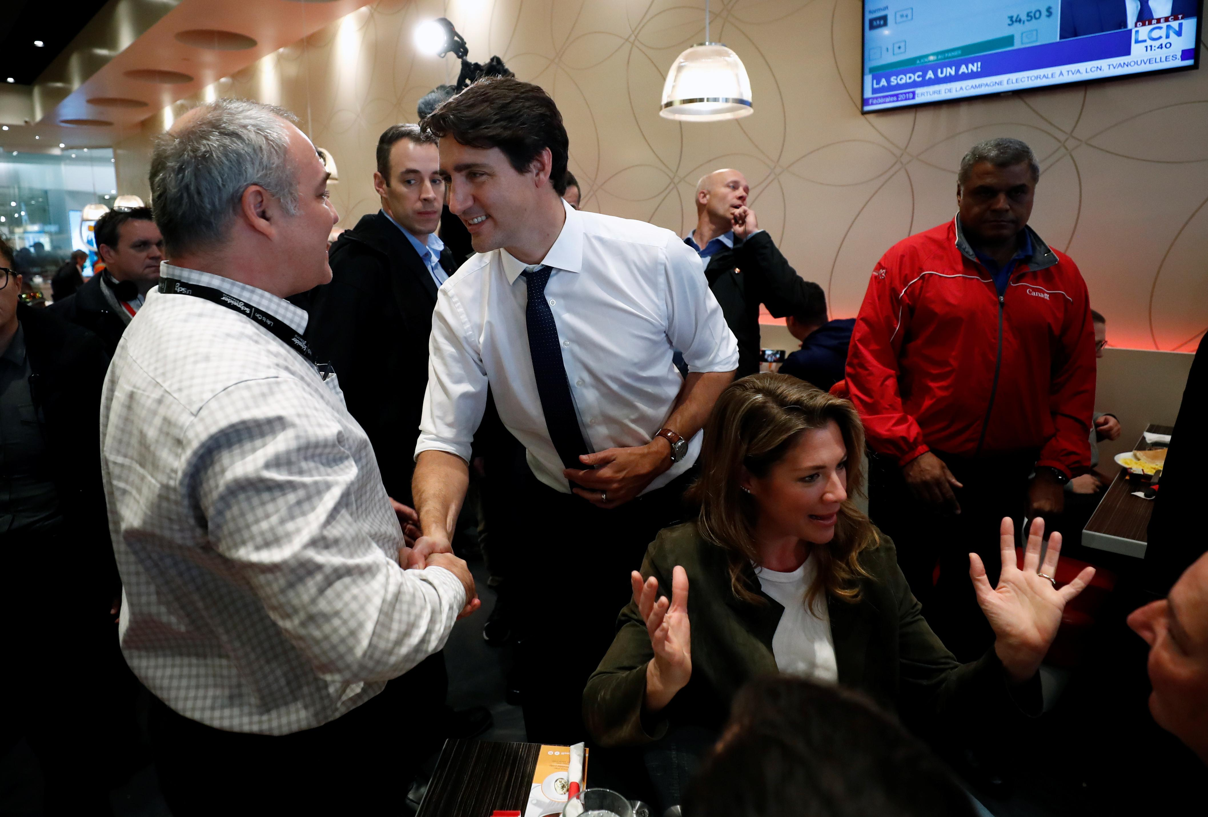 Canada's Trudeau should resign if he fails to win the most seats:...