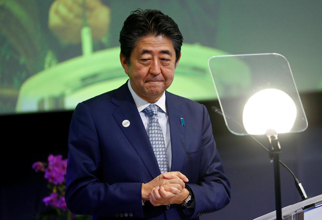 Image result for South Korean PM likely to meet Japan's Abe next week amid strained ties
