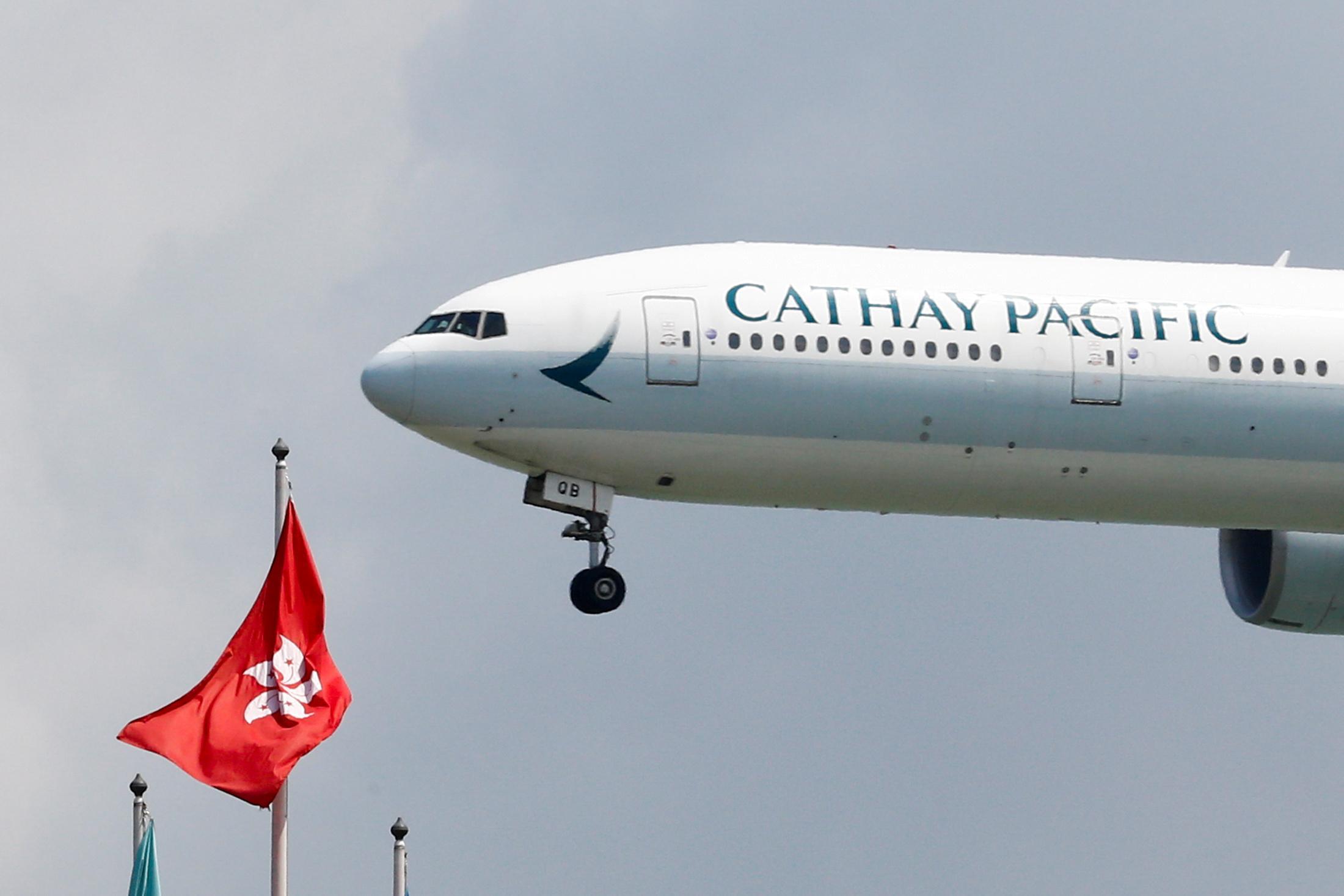 Cathay Pacific shelves U.S. dollar bond plans amid Hong Kong unrest