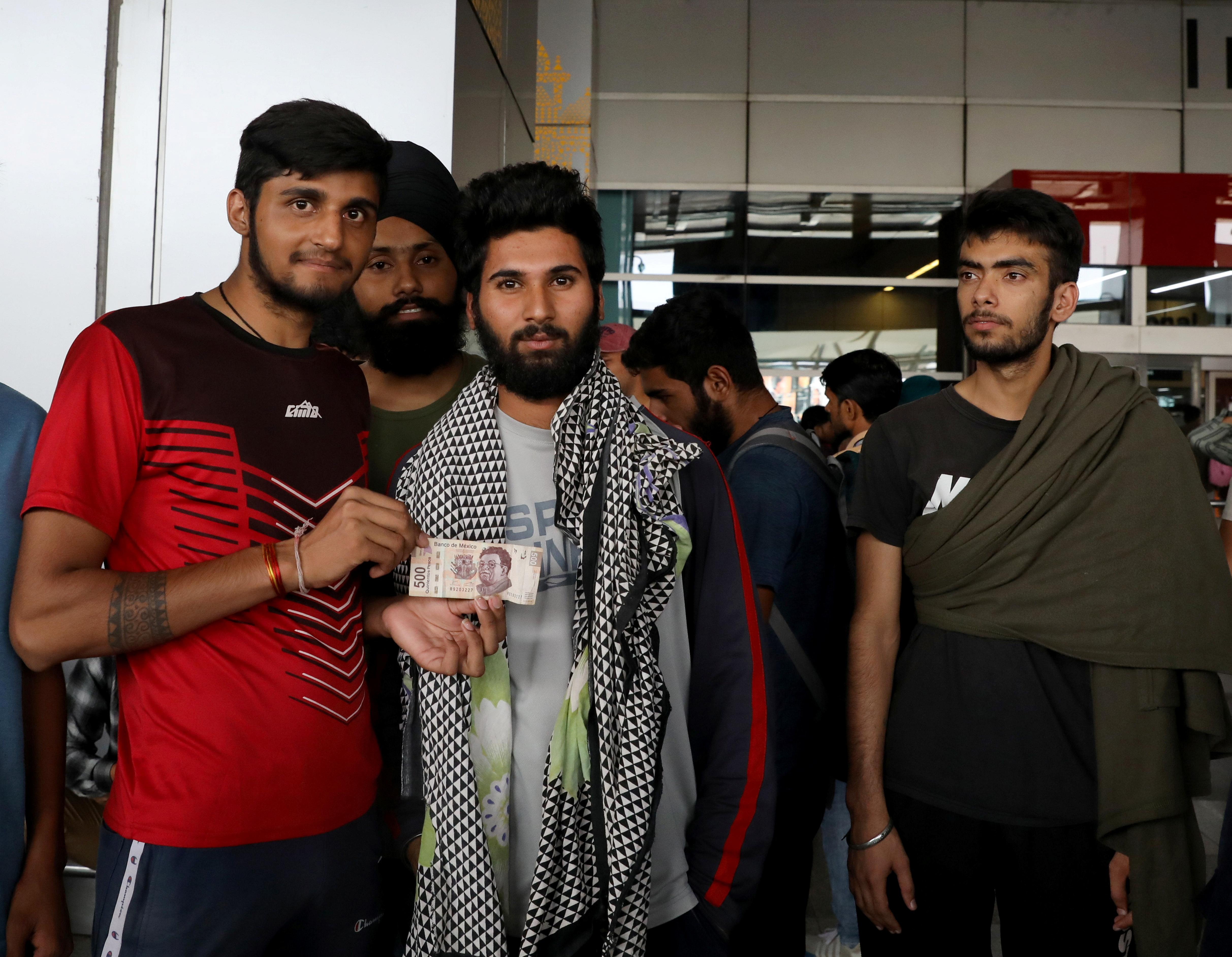 Mexico flies 300 Indian migrants to New Delhi in 'unprecedented'...
