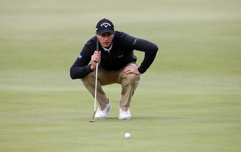 Golf: Colsaerts joins Coetzee at top of French Open standings