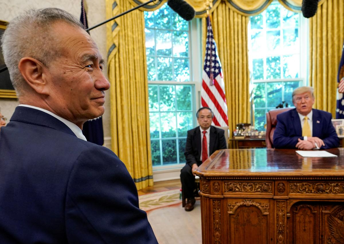 China says will work with the U.S. to address each other's core...