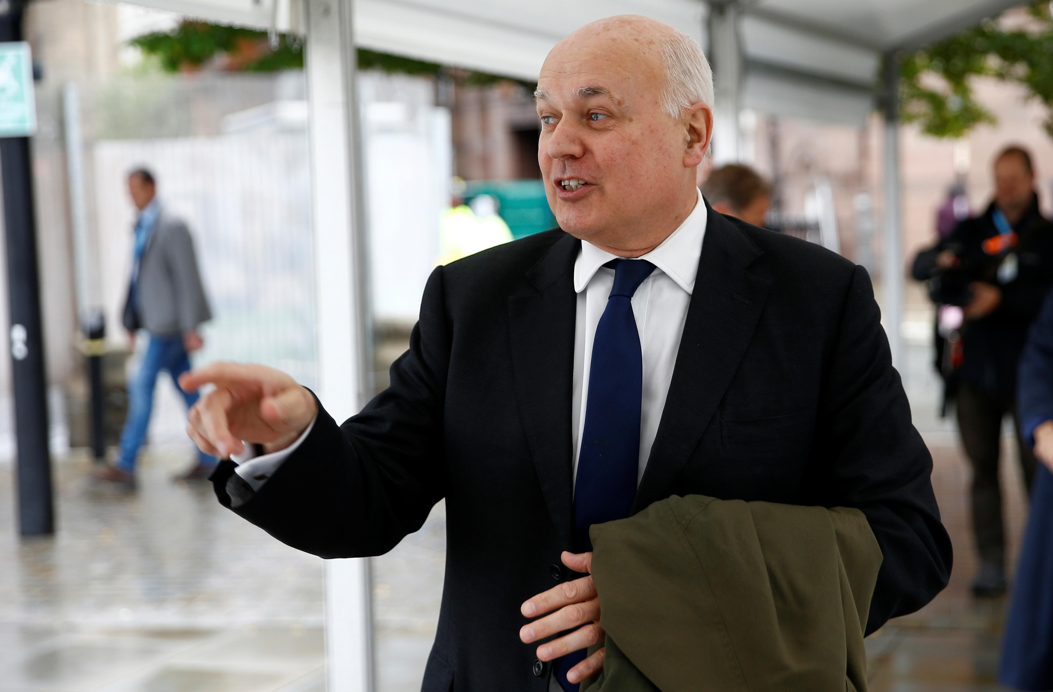 UK Conservative lawmaker Duncan Smith says time to get Brexit done