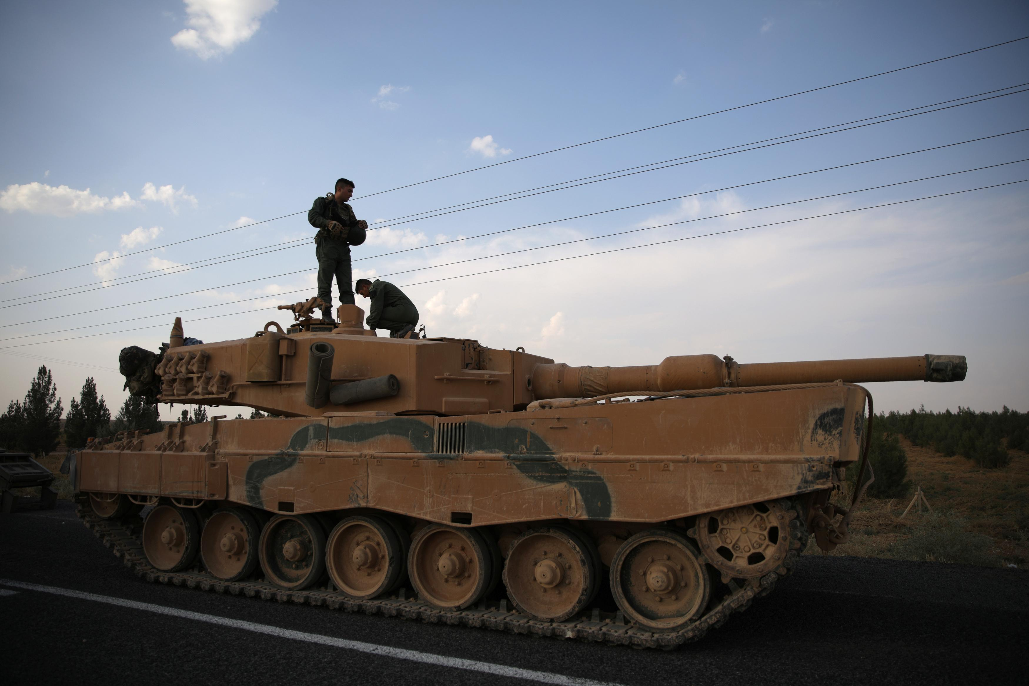 Calm reigns in northeast Syria as fragile U.S.-Turkey ceasefire holds