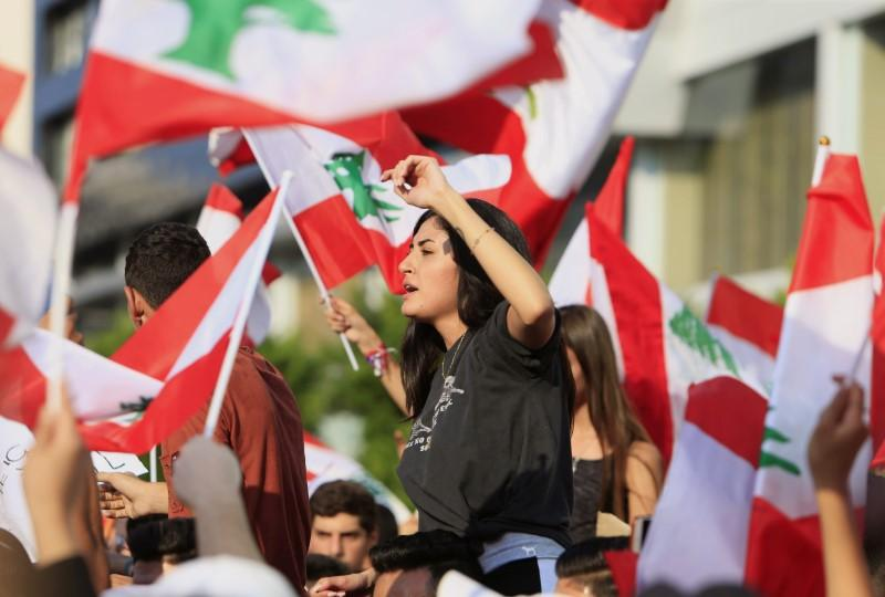 Thousands take to Lebanon's streets in third day of anti-government...