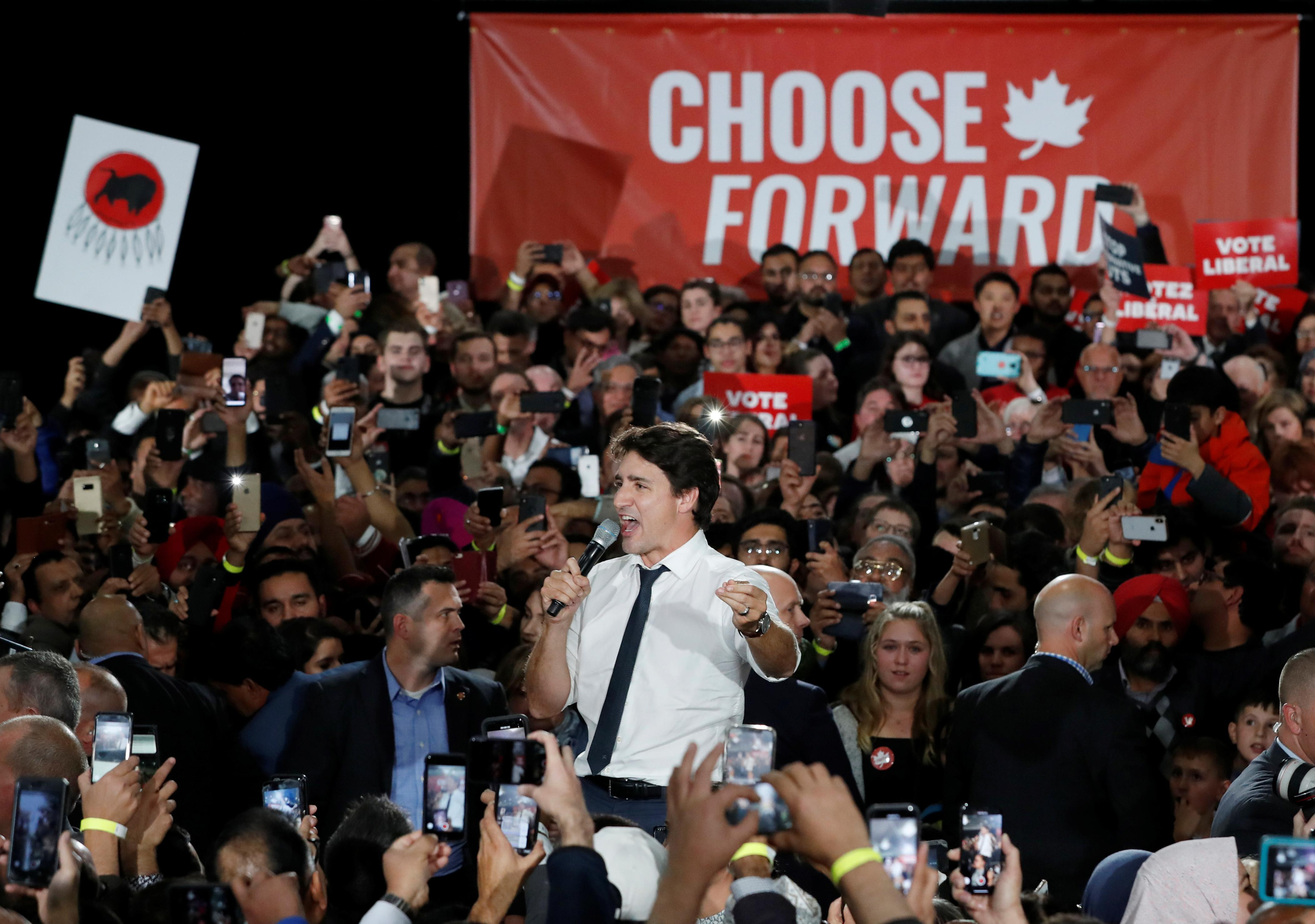 Canada's Trudeau, main rival trade attacks as campaign grinds to...
