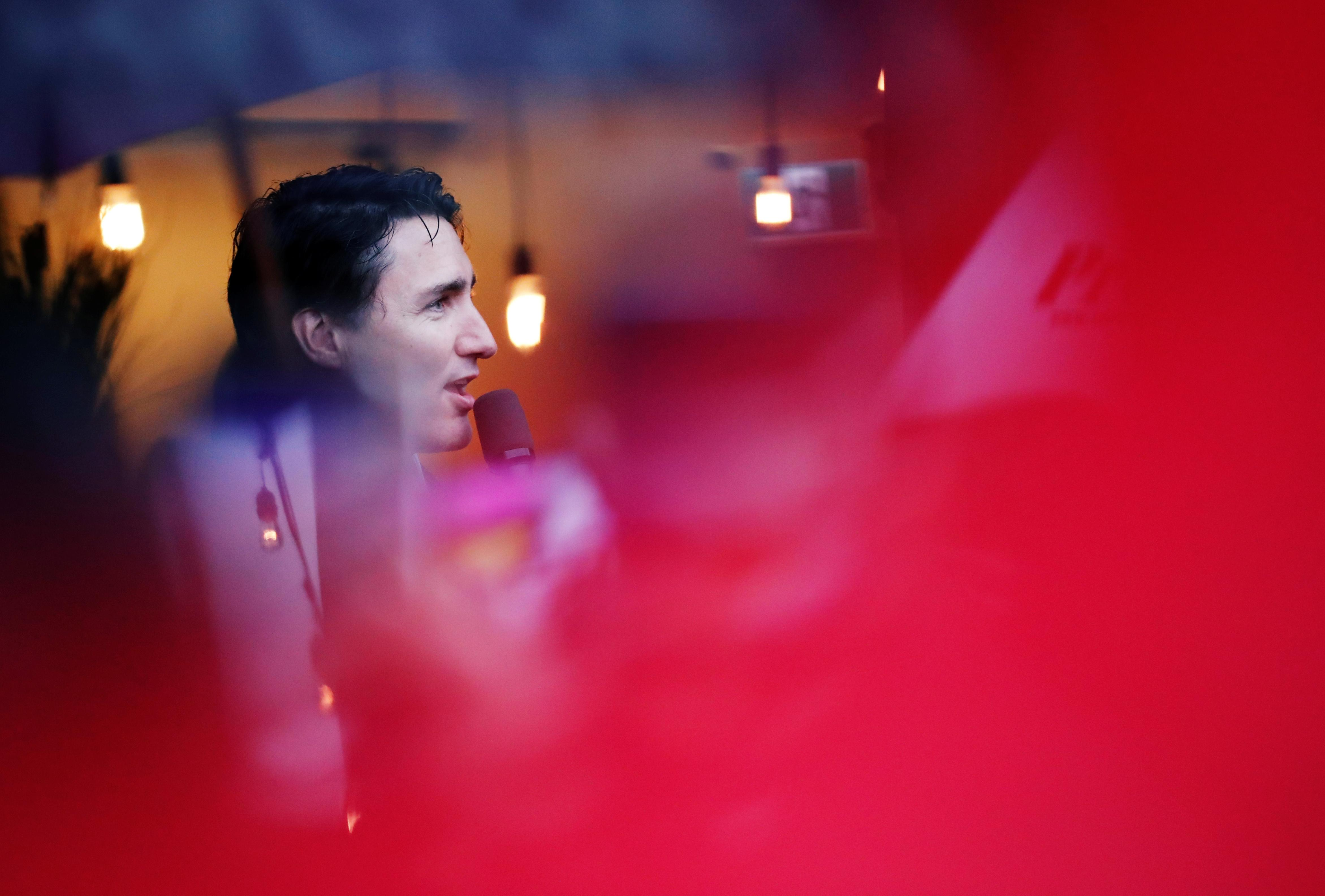 Battered Trudeau team sees sign of Canadian election hope after...